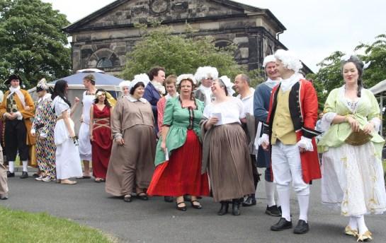 Fayre procession