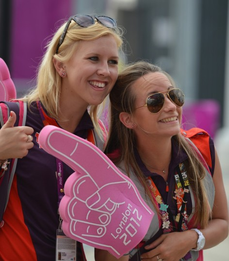 olympic volunteers