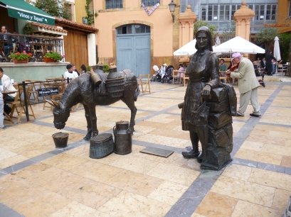 Trader and horse