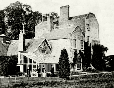 Dothill Hall as it looked in the early 20th Century