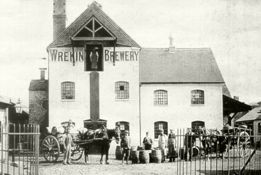 The old Wrekin Brewery, Market Street