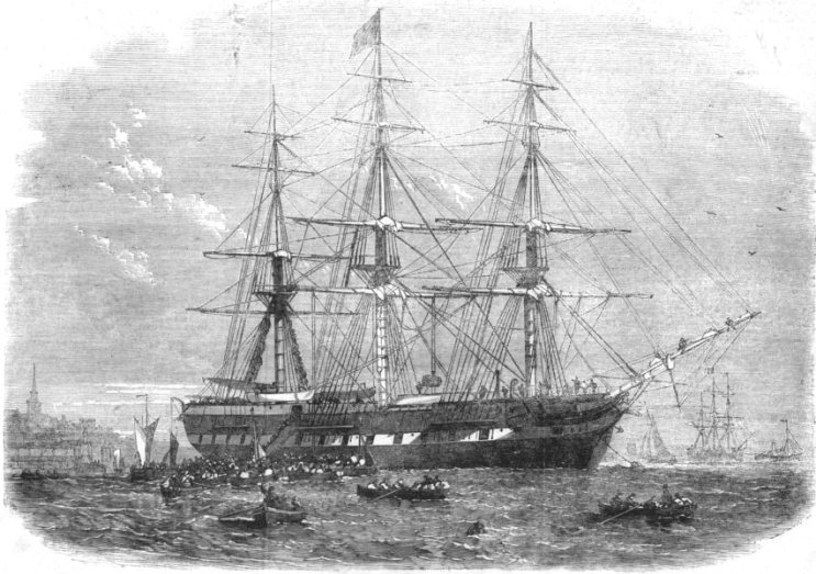 The Gertrude, which took Plimmer to Wellington in 1851.