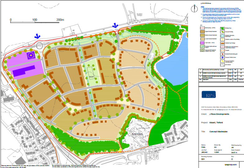 Apley masterplan