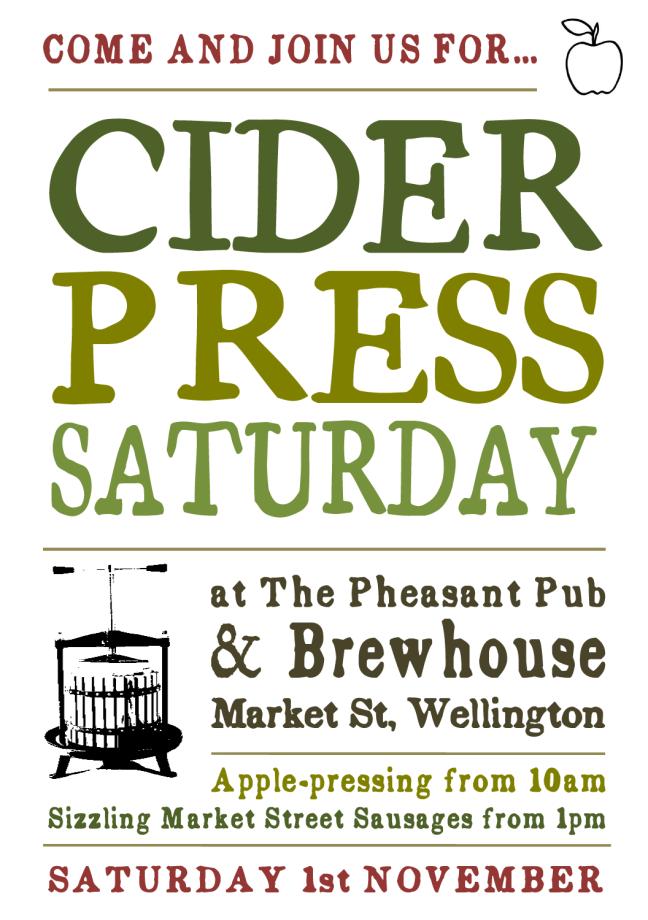cider press poster