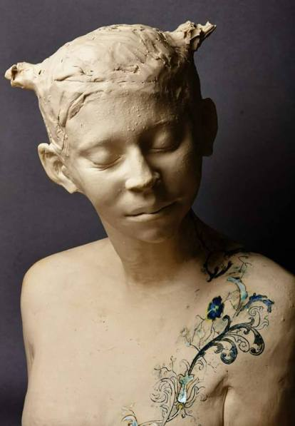 bust by Sharon Griffin