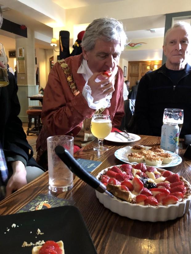 mayor tart tasting